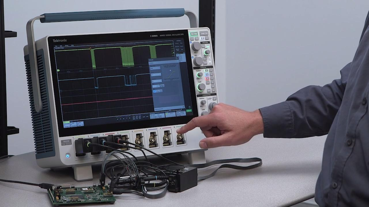 series mso mixed signal oscilloscope 5-minute overview圖片