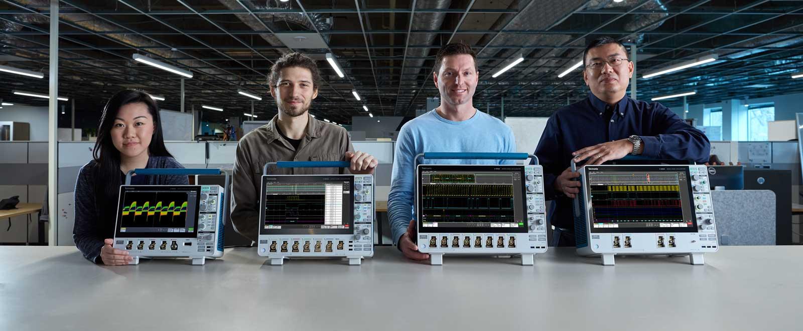 tek oscilloscope family