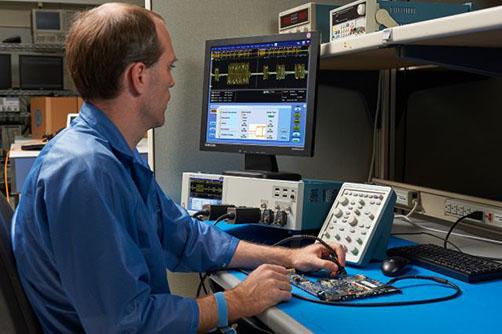 DPO70000SX系列,极高的信号完整性