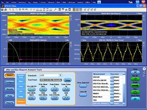 MSO/DPO70000系列,可追踪信号的测量和分析工具