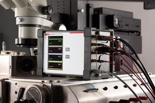 Keithley 4200A-CVIV multi-switch on a wafer probe station