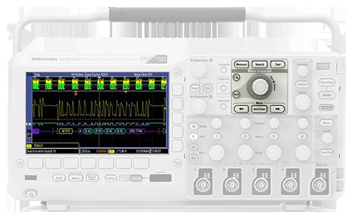 MSO2000系列,更快地查找、调试和分析